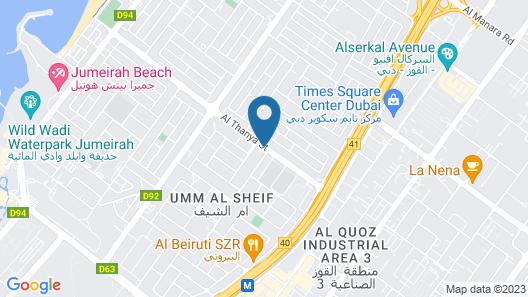 2 Beds Brand New Apt In Al Wasl Jumeirah Map