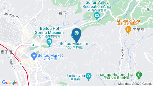 Grand View Resort Beitou Map