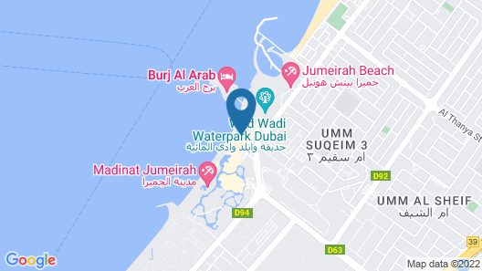 Jumeirah Al Naseem Map