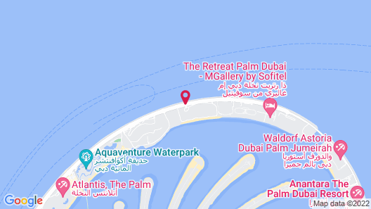 Sofitel Dubai The Palm Resort & Spa Map