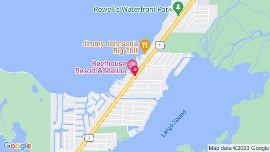 Key Largo Bay Marriott Beach Resort Map