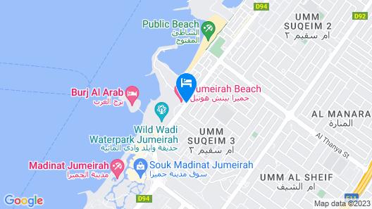 Jumeirah Beach Hotel Map