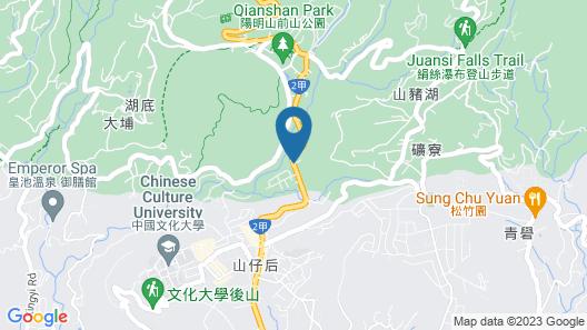 Landis Resort Yangmingshan Map