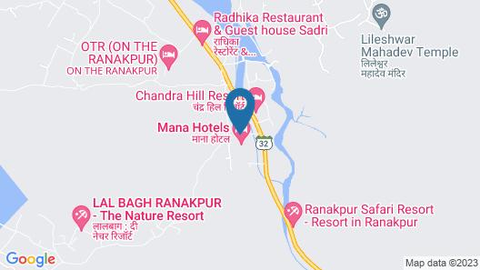 Mana Hotel Map