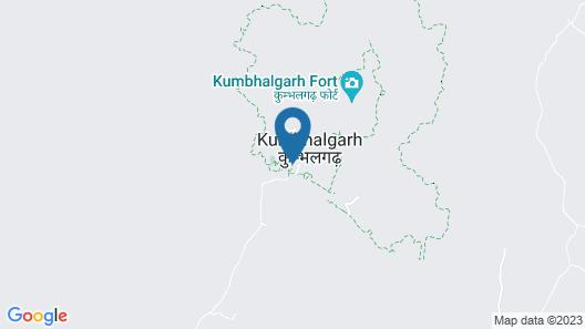 The Junagarh Lodge Kumbhalgarh Map