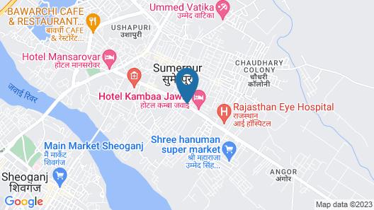 The Jawai Gateway Hotel Map