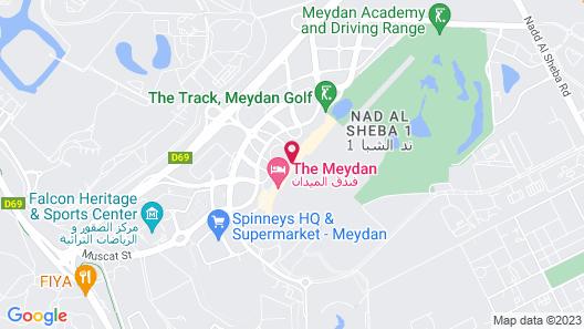 The Meydan Hotel Map