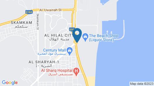 FUJAIRAH HOTEL & RESORT Map