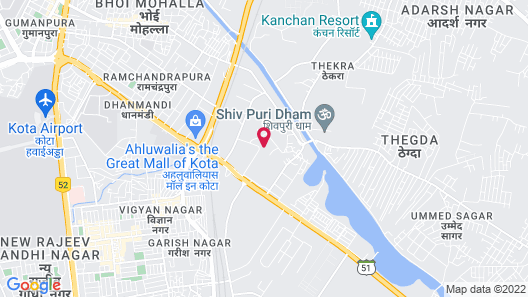 Ananta Elite, Kota Map