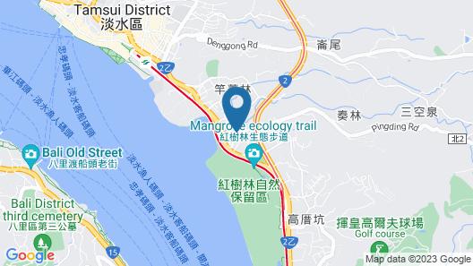 Centuray Tamsui Resort Map