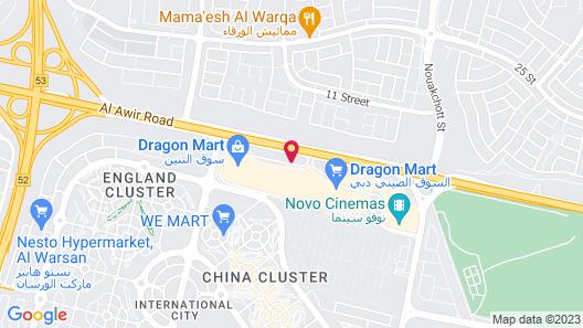 Premier Inn Dubai Dragon Mart Map