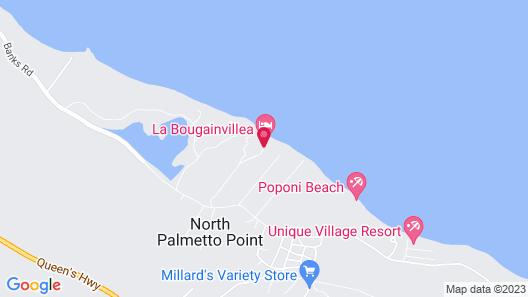 La Bougainvillea Hotel and Villas Map