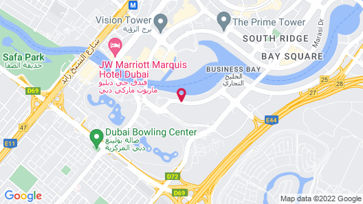 Canal Central Hotel Map