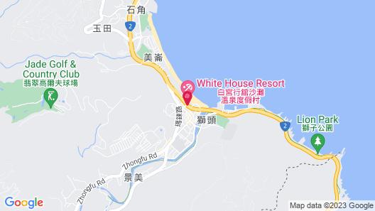 White House Beach Hotspring Resort Map