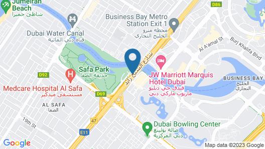 V Hotel Dubai, Curio Collection by Hilton Map