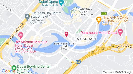 Renaissance Downtown Hotel, Dubai Map
