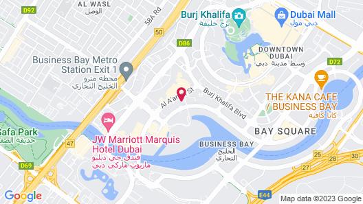 ME Dubai by Meliá Map