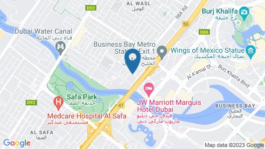 Holiday Inn Express Dubai Safa Park, an IHG Hotel Map