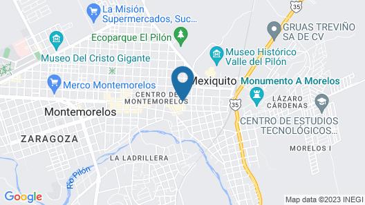 Monte Salerno Hotel & Suites Map