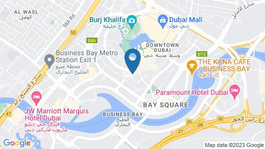 Vida Downtown Residences Map
