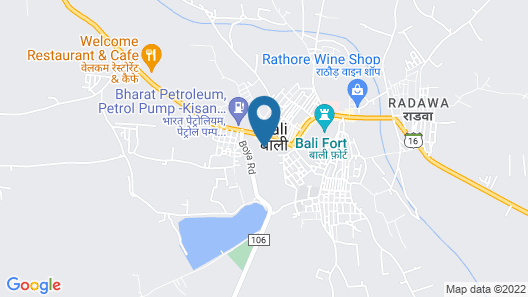 Thour Nature Resorts Map
