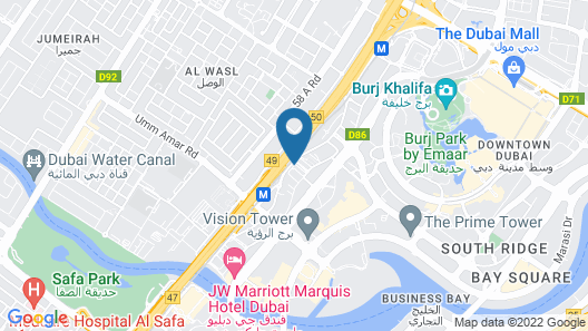City Premiere Hotel Apartment Map