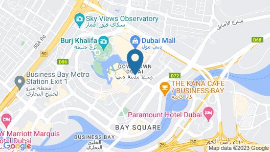 Address Downtown Map