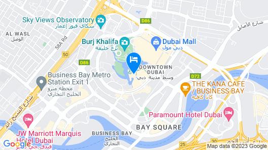 Palace Downtown Map