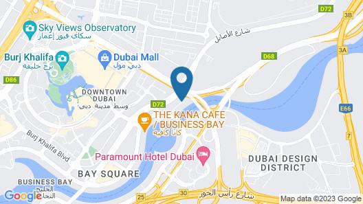 Millennium Central Downtown Map