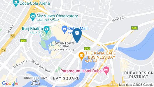 DAMAC Maison Mall Street Map