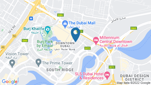 Address Fountain Views Map