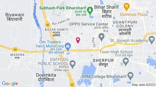 Hotel Mamta International Map