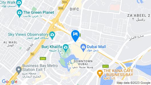 Address Dubai Mall Map