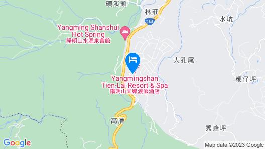 Yangmingshan Tien Lai Resort & Spa Map