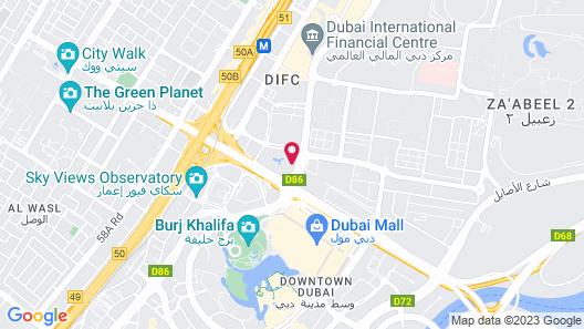 Roda Al Murooj Residences  Map