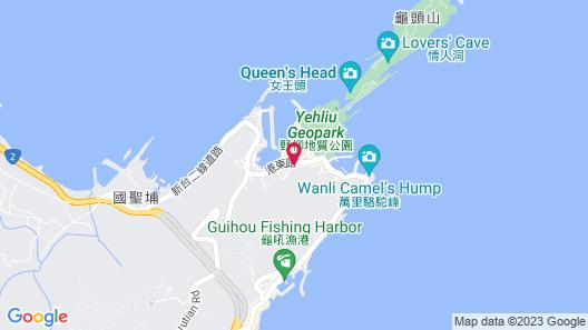 Inhouse Hotel Yehliu Map