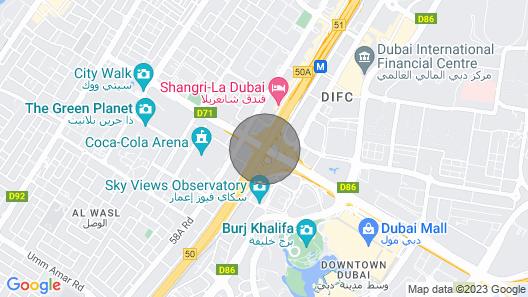 Beautiful Farm in Dubai Map
