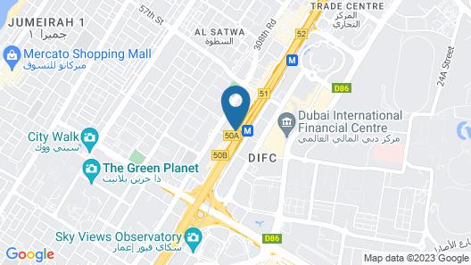 Emirates Grand Hotel Apartments Map
