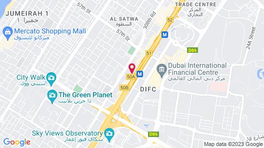 AlSalam Hotel Suites Map