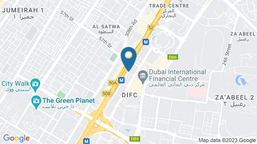 Gevora Hotel Map