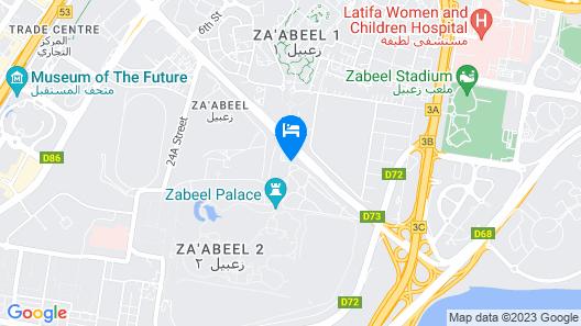 Jacob's Garden Hotel Map