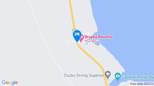Brayka Bay Resort Map