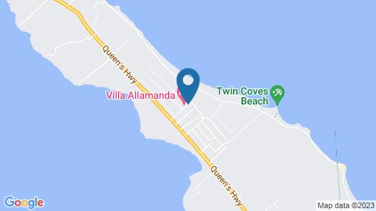 Villa Allamanda Map