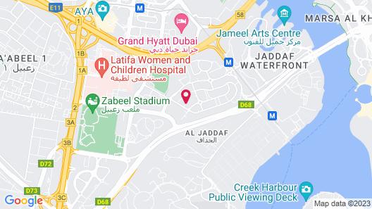 Arabian Park Hotel Map