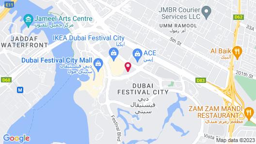 Holiday Inn Dubai Festival City, an IHG Hotel Map