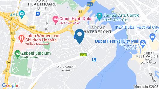 FORM Hotel Dubai, a Member of Design Hotels Map