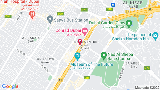 voco Dubai - an IHG Hotel Map