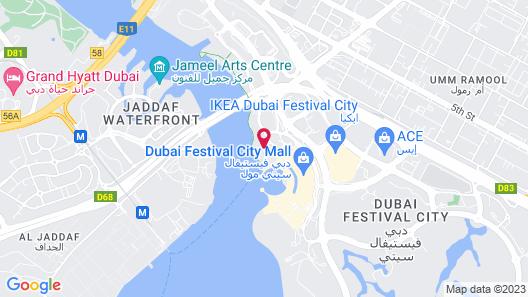 Crowne Plaza Festival City, an IHG Hotel Map