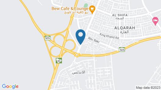 Raoum Inn Shaqra Map