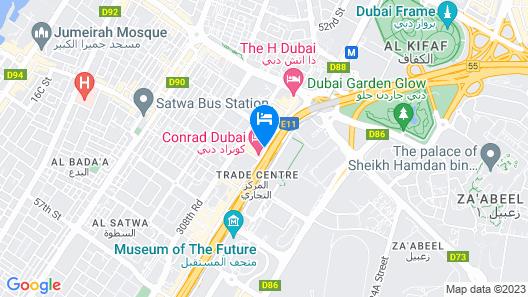 Fairmont Dubai Map